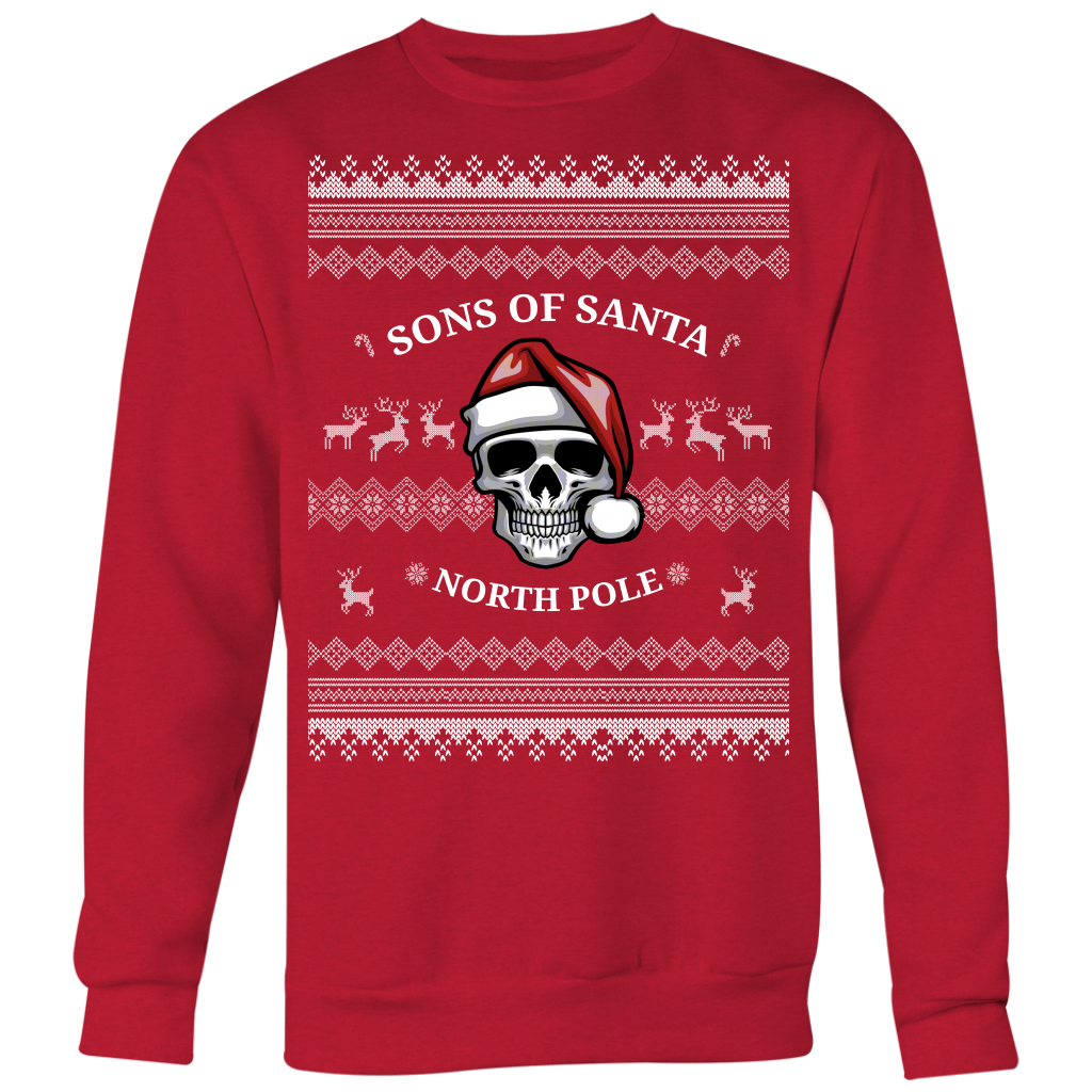Sons Of Santa Ugly Christmas Sweater