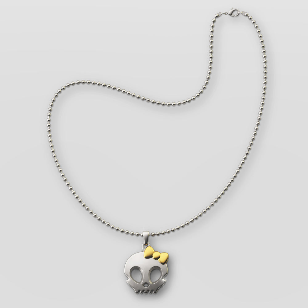 Skullistic Chic Skull Necklace