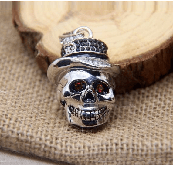 Cool Metal Skull USB Key