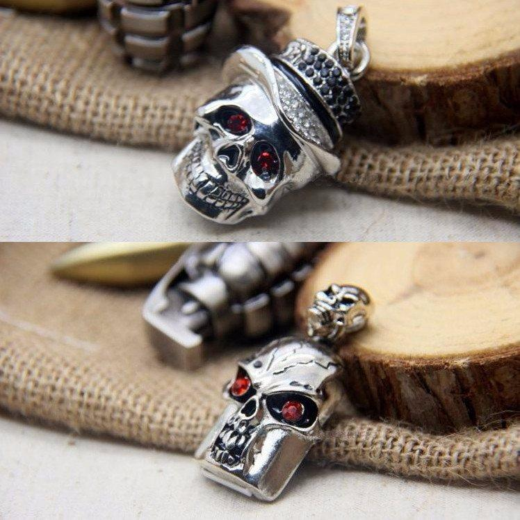 Cool Metal Skull USB Flash Drive