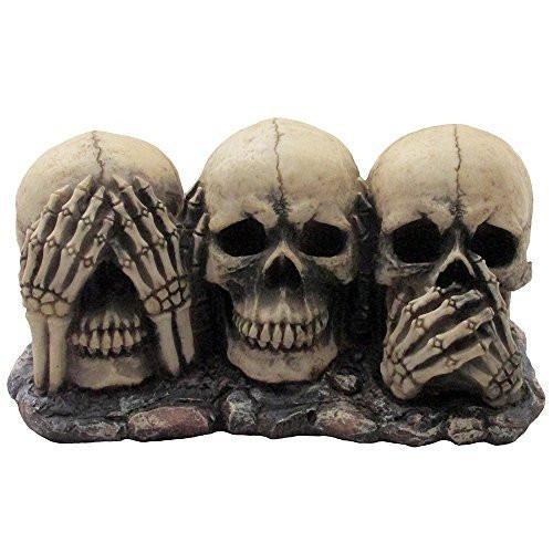 Evil Skulls Indoor & Outdoor Decor