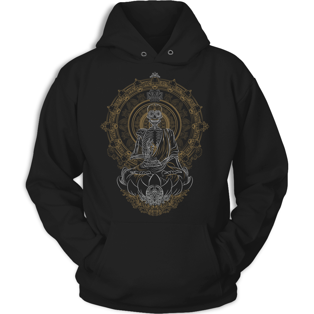 Skullistic Zen Meditating Skeleton Apparel TF