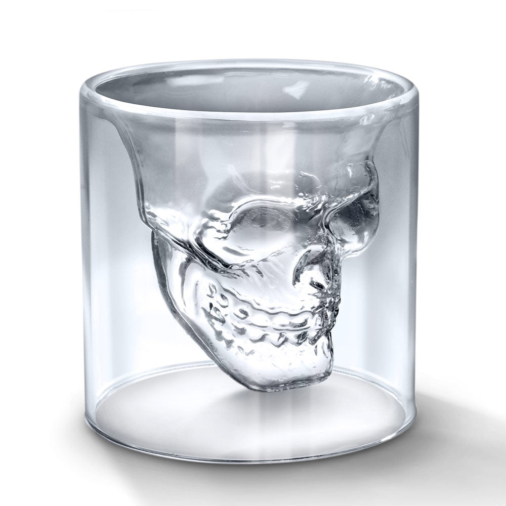 Mayan Skull Shot Glass