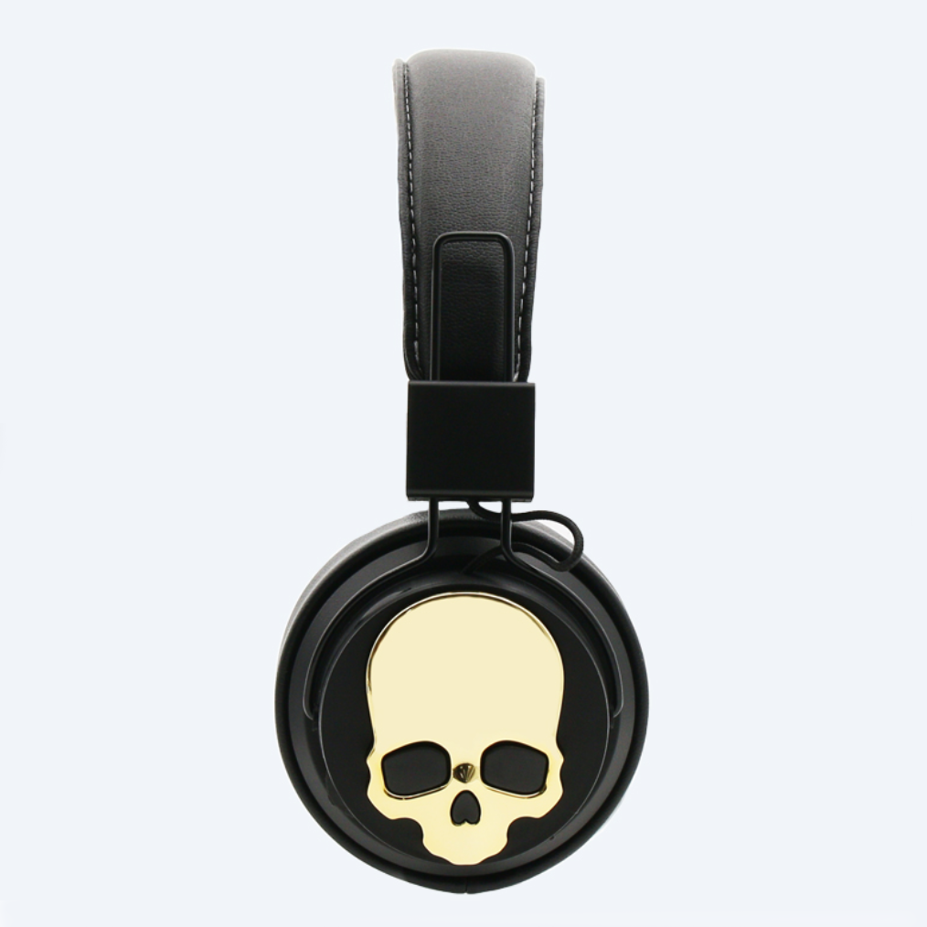 Zapps Clothing Wireless Skull Headphones ZC XN side
