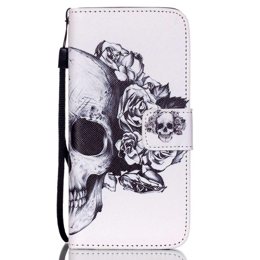 Retro Skulls & Roses Phone Cover