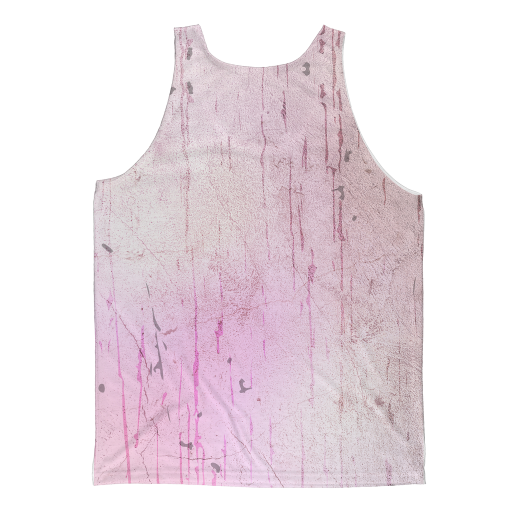 Unicorn Skull Pink Sublimated Tank Top
