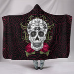 Day Of The Dead Hooded Blanket