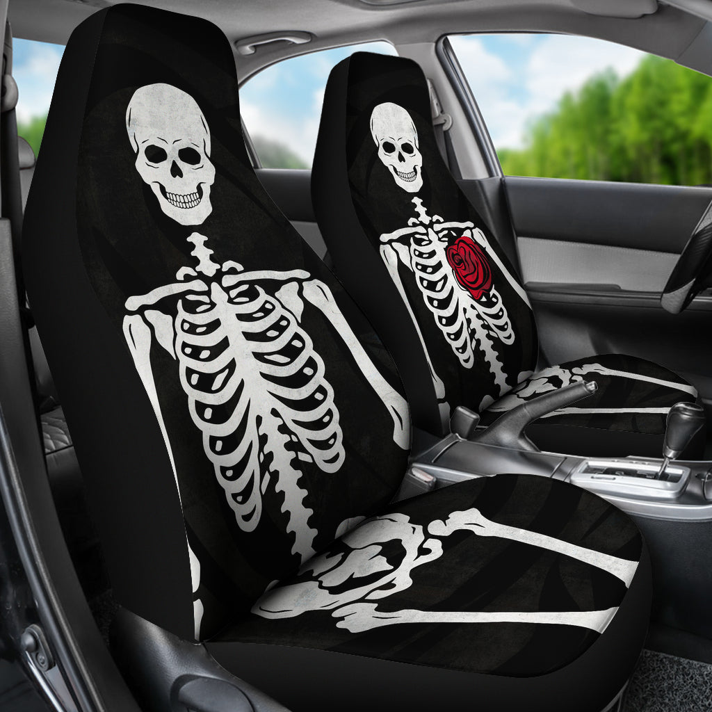 Skeleton Car Seat Covers