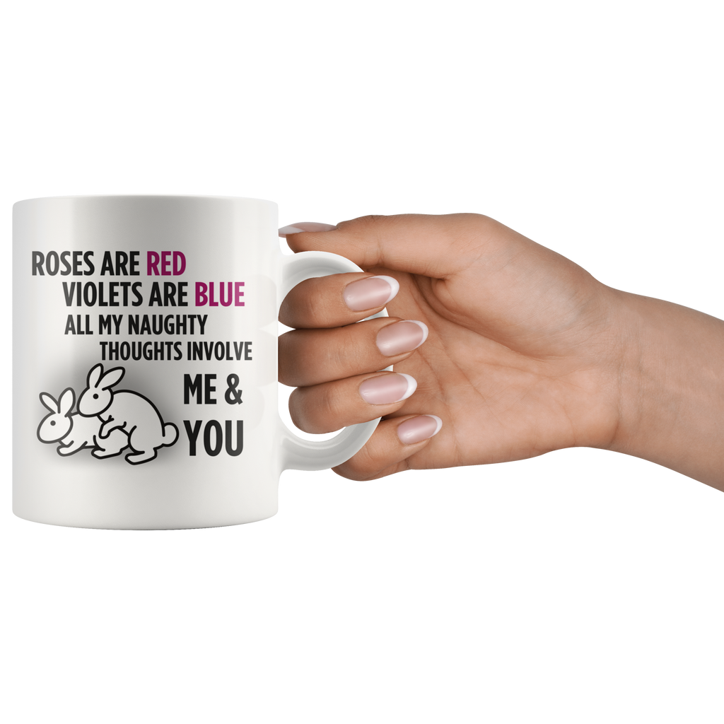 You And Me Valentine's Day Mug