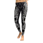 Mandalic Skull Leggings