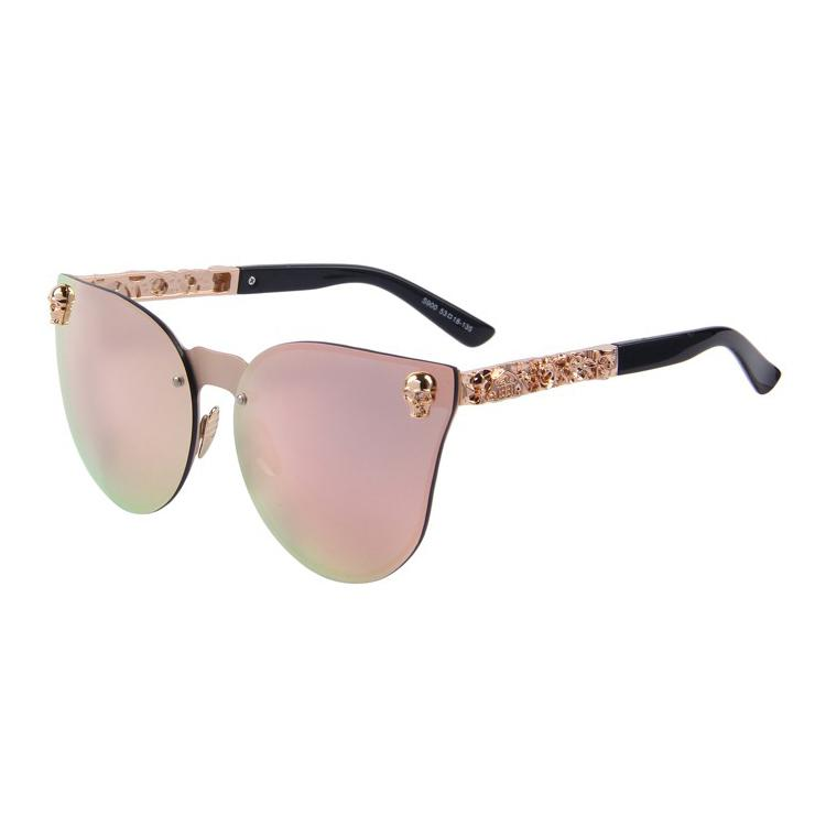 Skull Cat Eye Sunglasses
