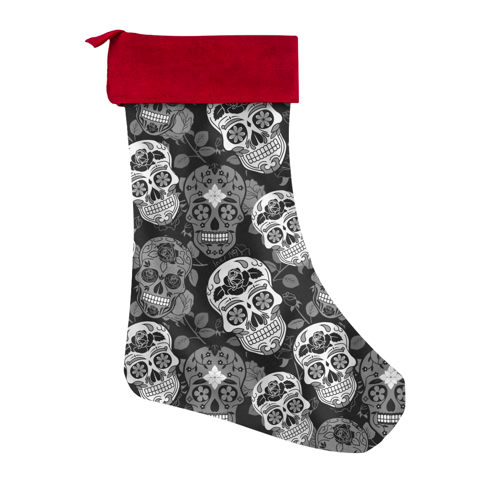 Sugar Skulls Christmas Stocking