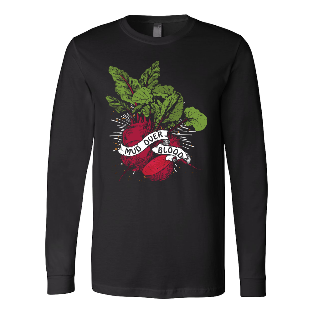 Mud Over Blood Beet Sweatshirt and LS