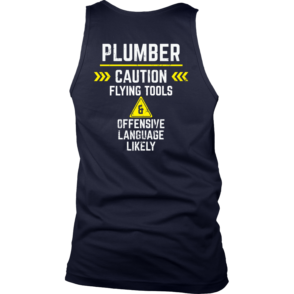 Plumber - Flying tools and offensive language likely