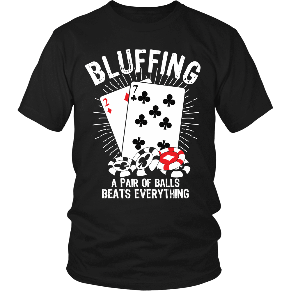 Bluffing! A Pair Of Balls Beats Everything