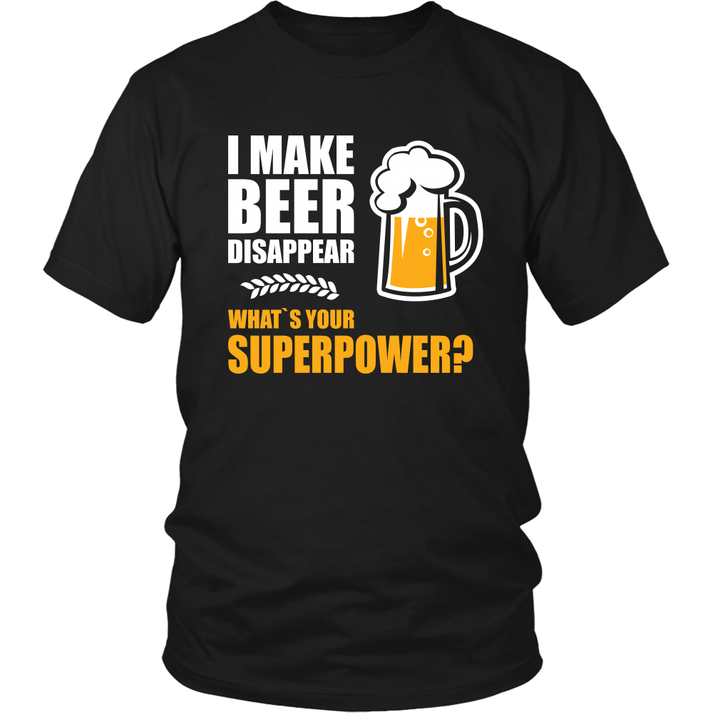 I Make Beer Disappear Apparel