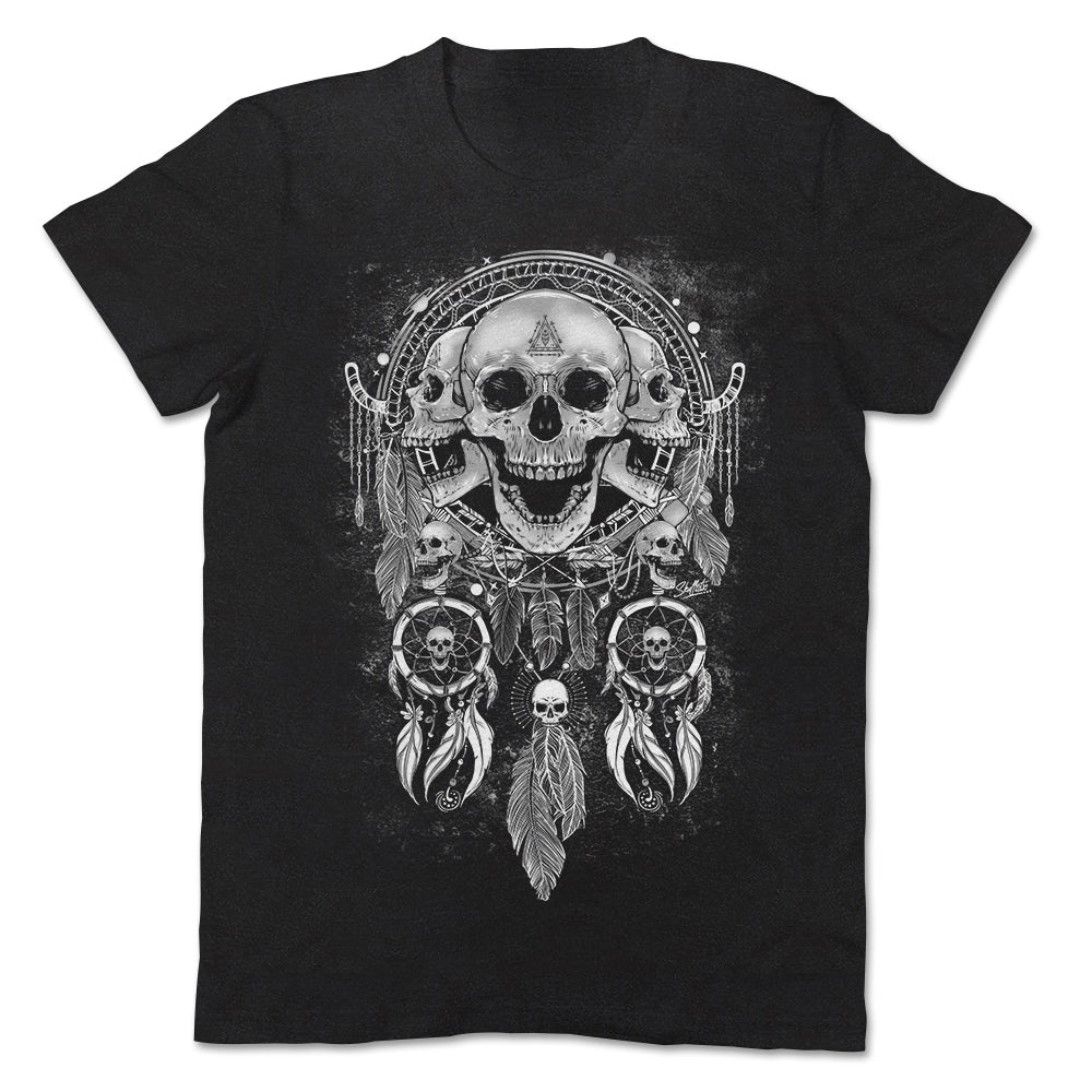 Skullistic Skull Dream Catcher Apparel