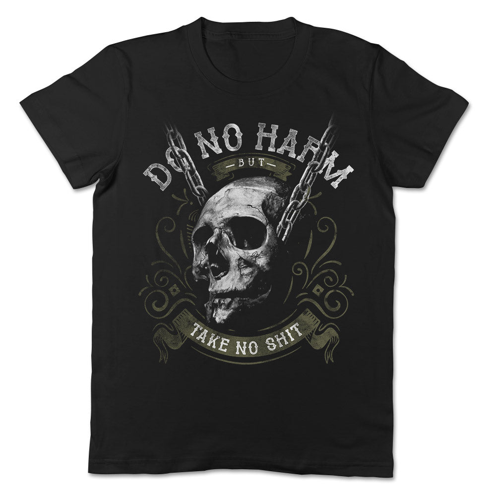 Skullistic Do No Harm Skull T-shirt