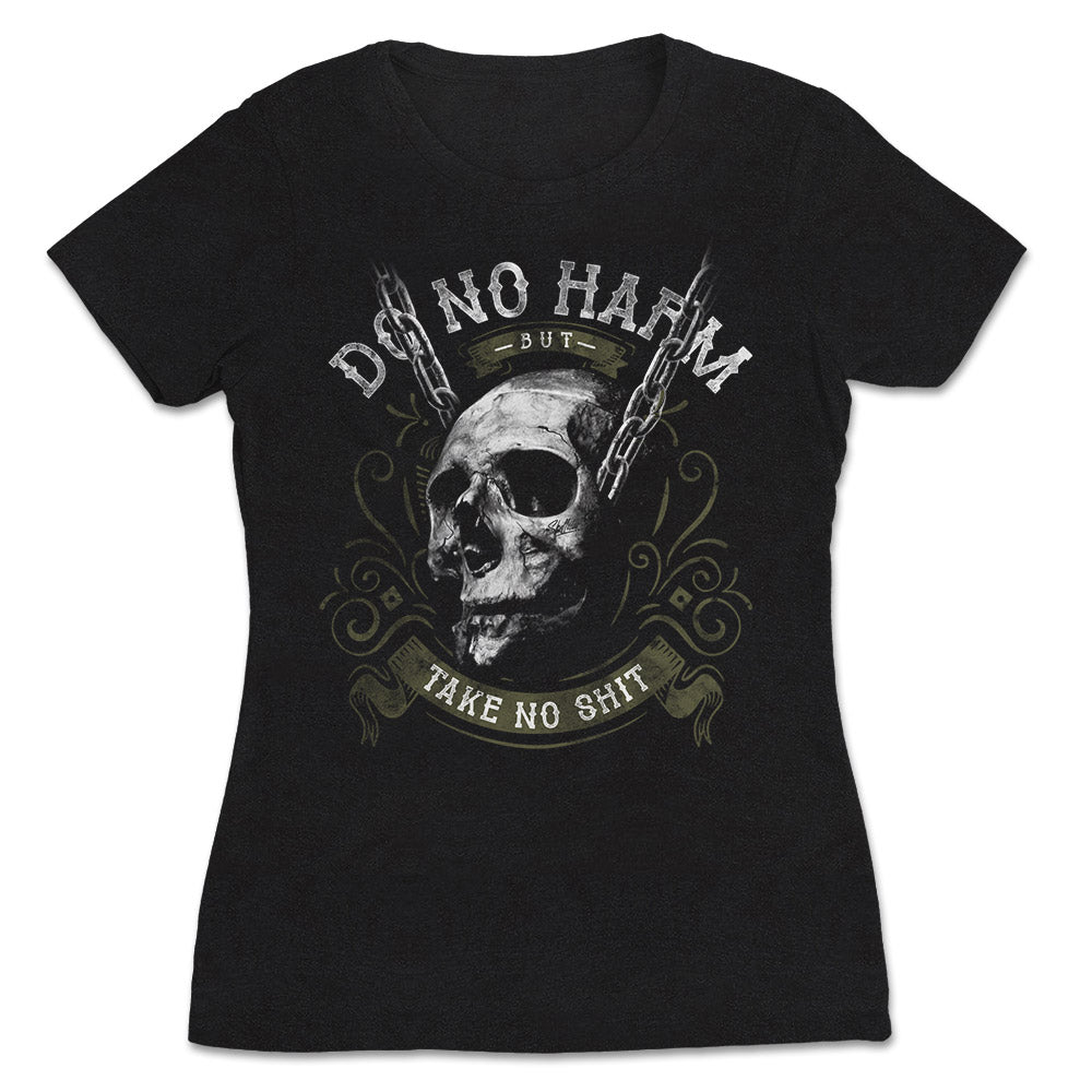 Skullistic Do No Harm Skull Apparel
