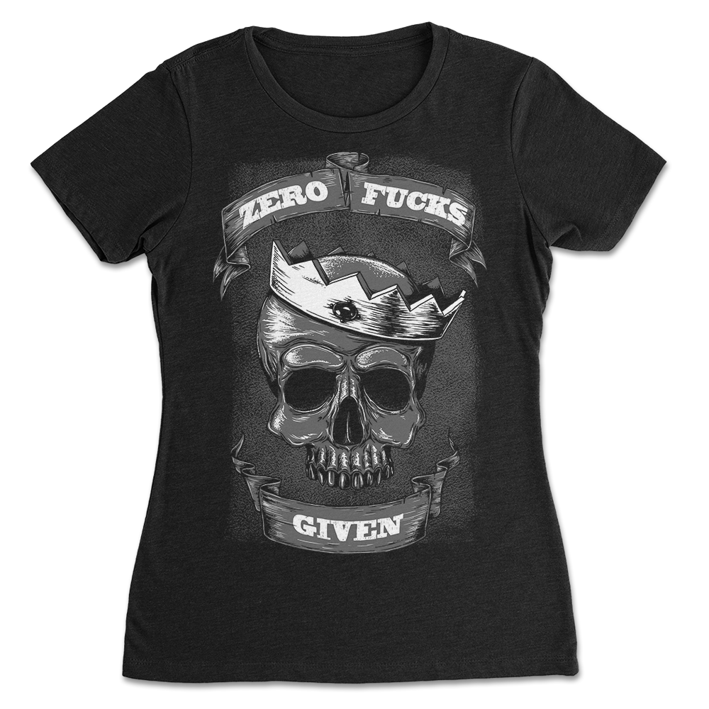 Skullistic Zero Crowned Skull Apparel