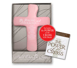 Be Strong and Courageous Palm Cross