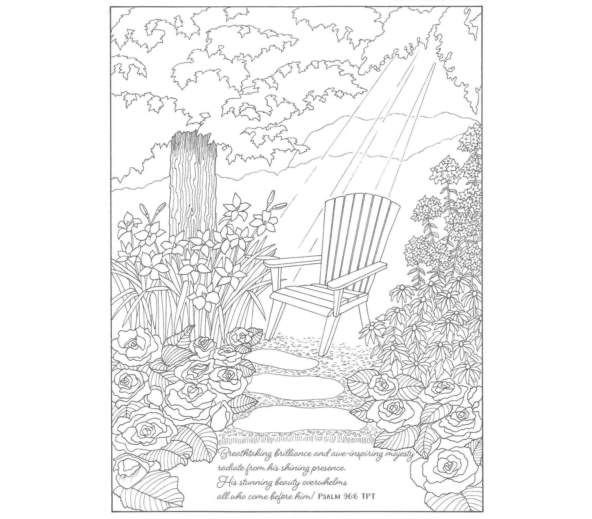 A Walk in the Garden Coloring Book | FairHope Notes