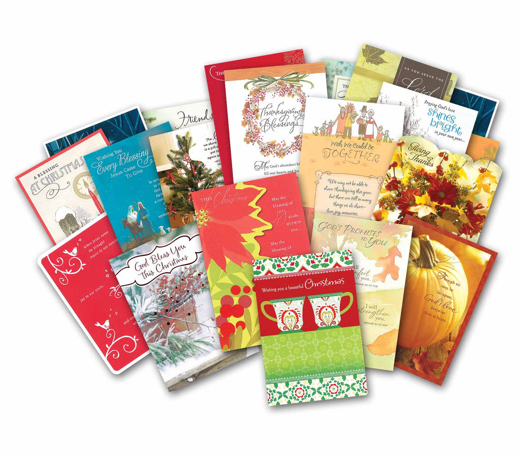 Fall Seasons & Christmas Blessings Value Pack
