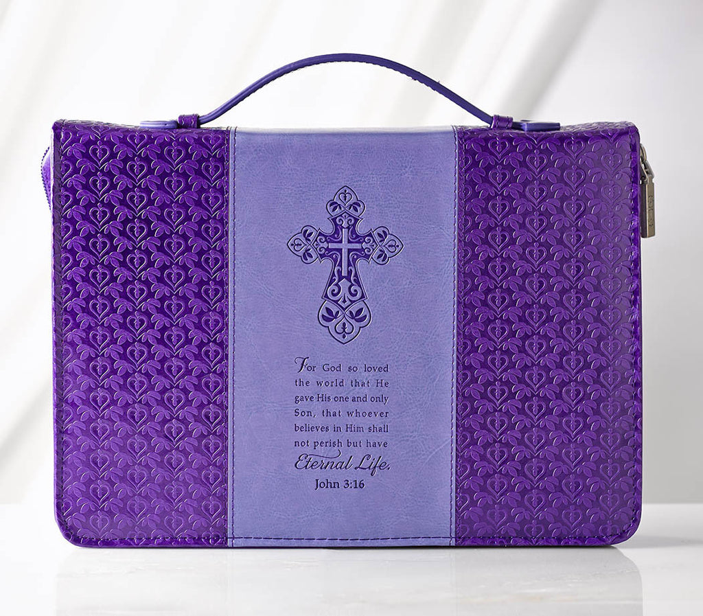 """Eternal Life"" Bible Cover"