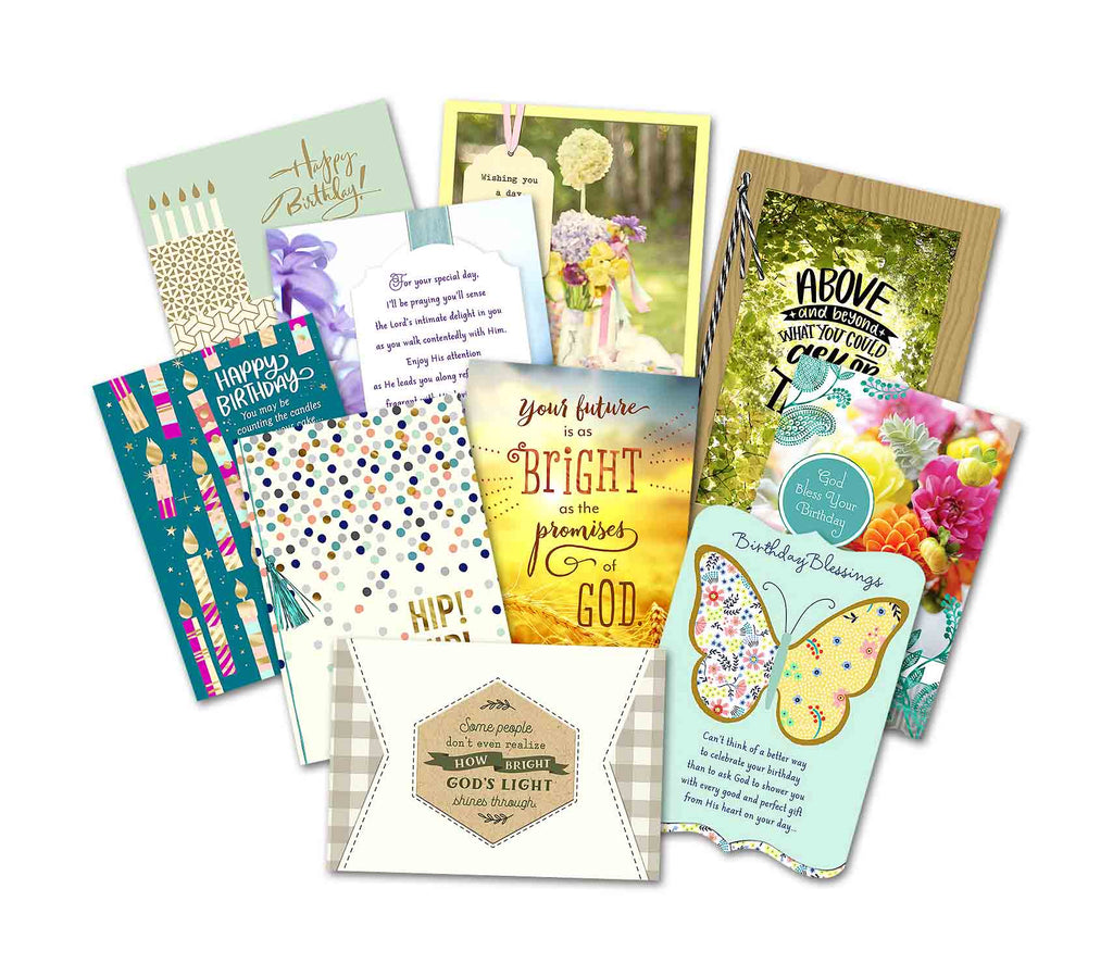 Birthday Cards v19 - 10 Pack