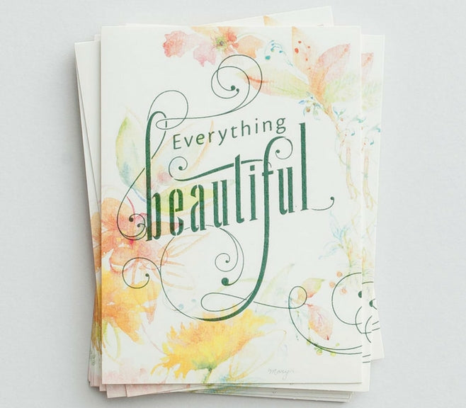 Everything Beautiful Note Cards – 10 Pack