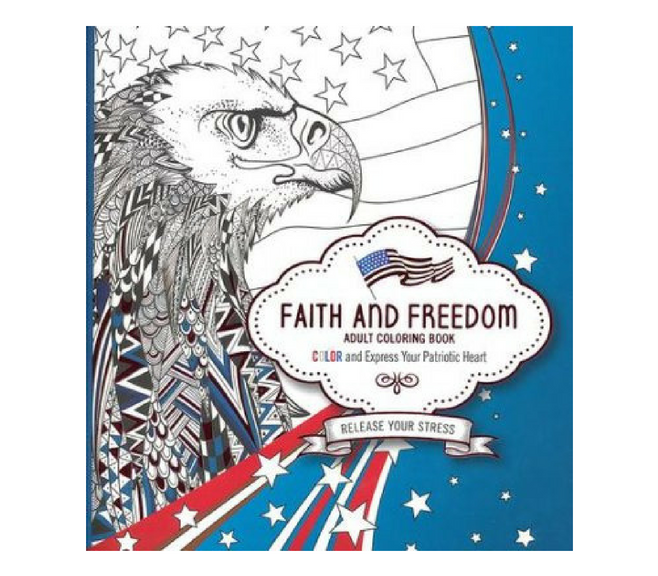 Faith and Freedom - Adult Coloring Book