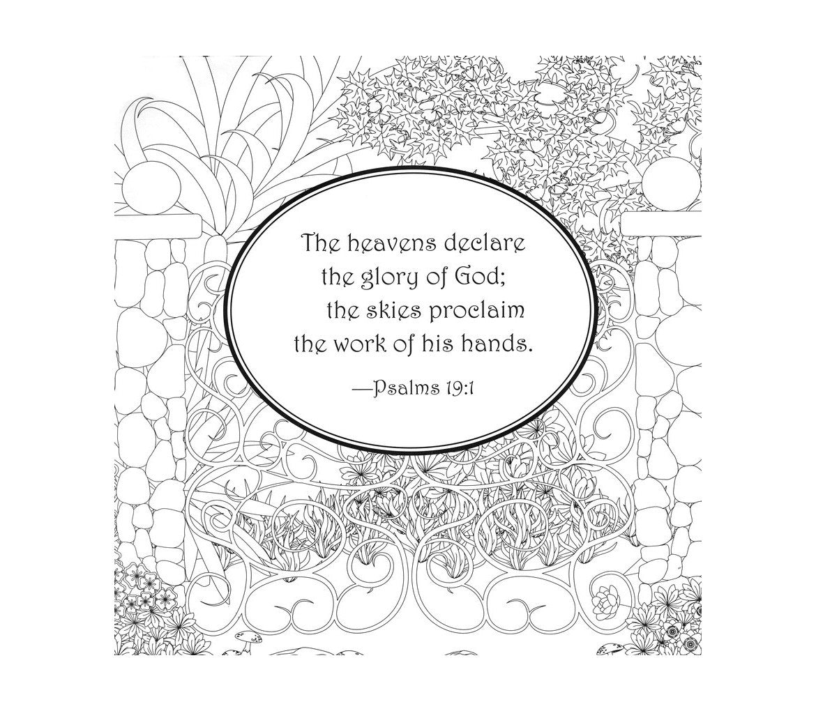 Garden Of Eden Coloring Pages - Coloring Home | 1020x1170