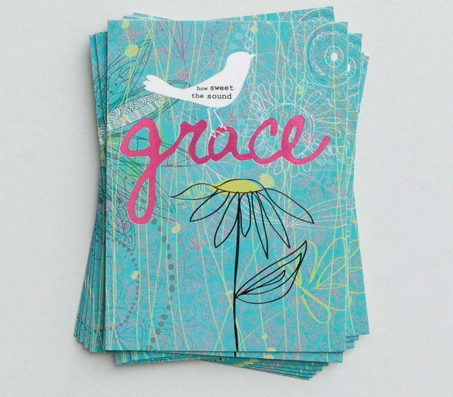 Grace Note Cards - 10 Pack
