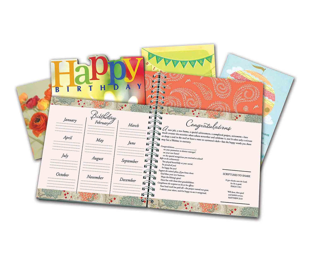 Friendship Card Organizer with Address Book