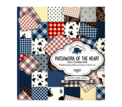 Patchwork of the Heart Coloring Book