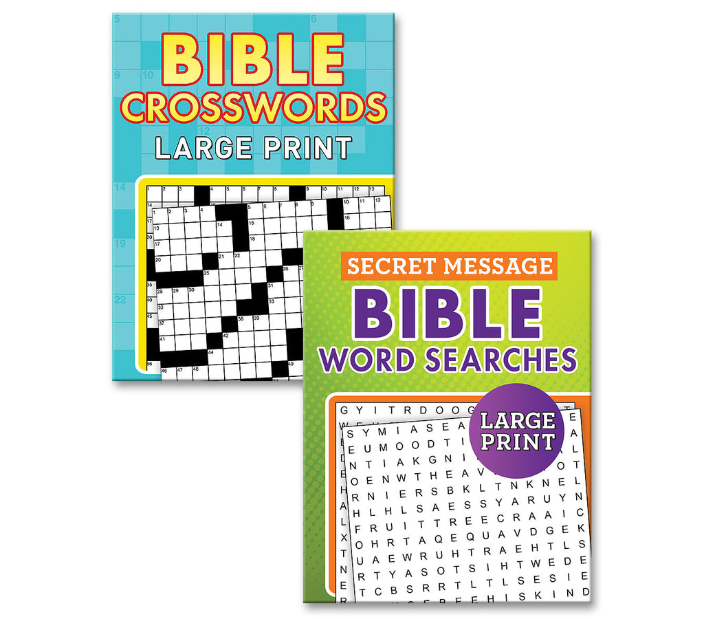 Bible Word Searches and Crosswords