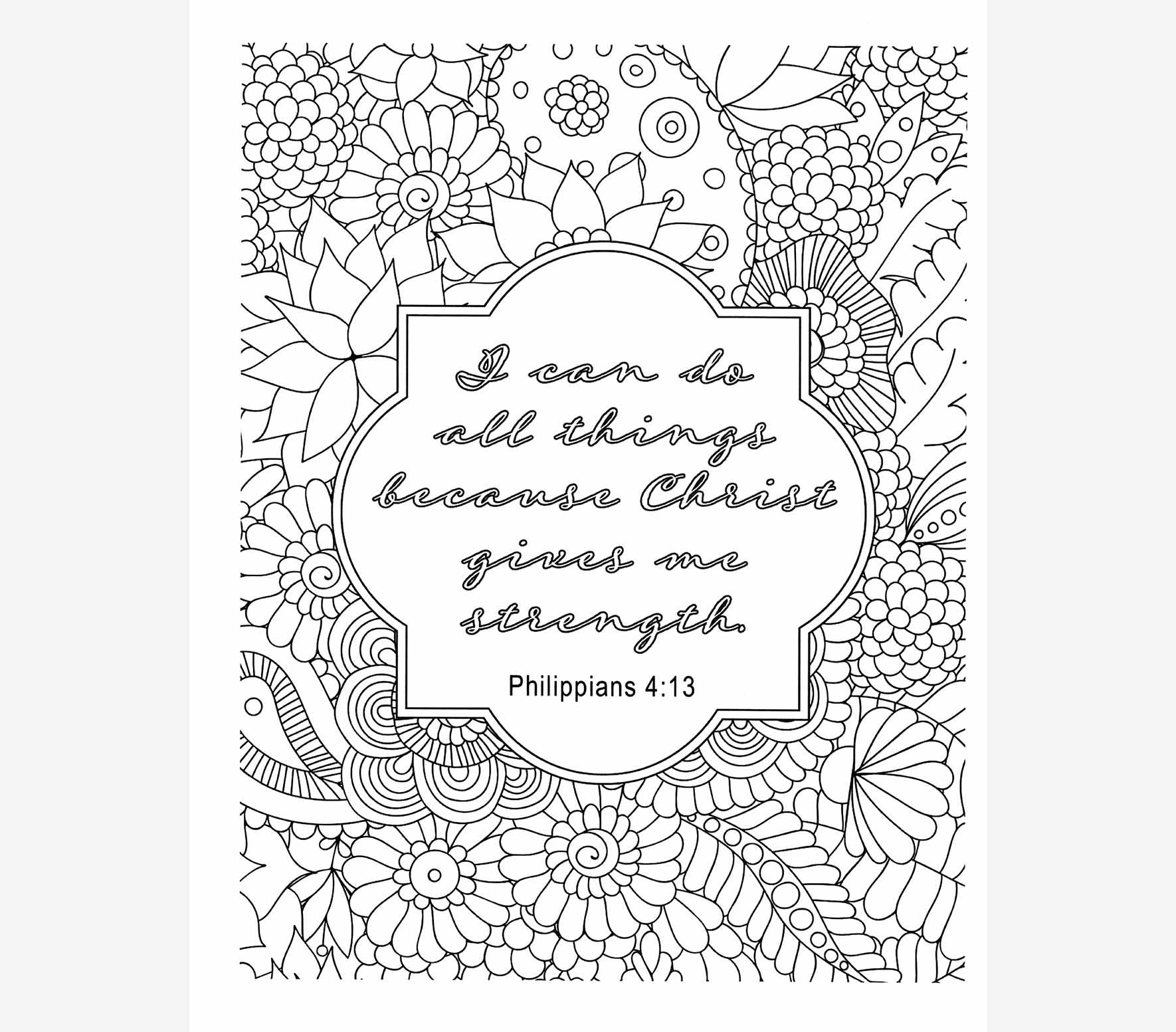 Sympathy card coloring pages ~ Too Blessed To Be Stressed Coloring Book | FairHope Notes
