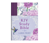 The KJV Study Bible - Large Print (Hardcover)