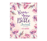Know Your Bible Journal For Women