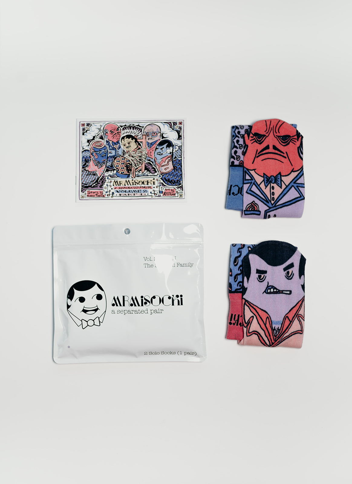 Volume 2.1 - Don Sockoni & Jimmy Threadless Socks for $ 16.00