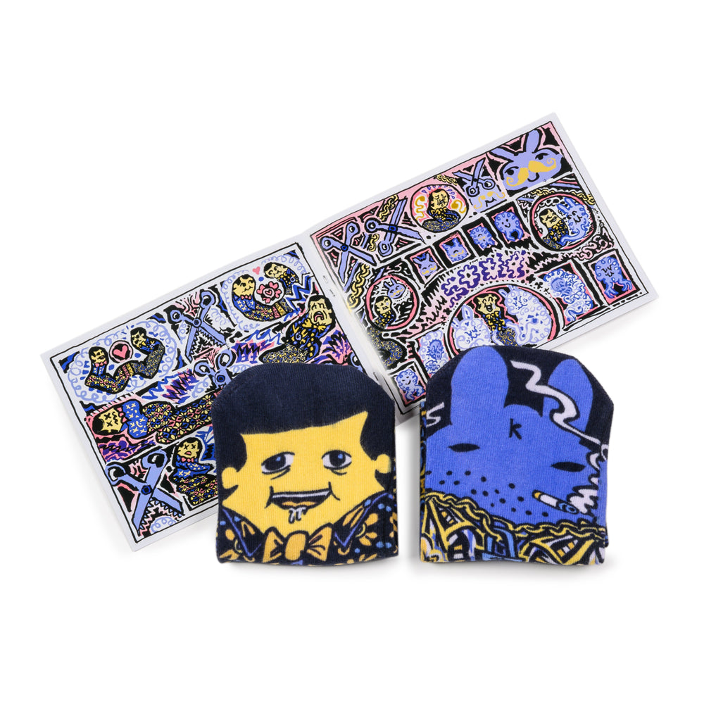 Volume 3.2 -Labbit & Socki (MrMiSocki x Kidrobot) for $ 12.00