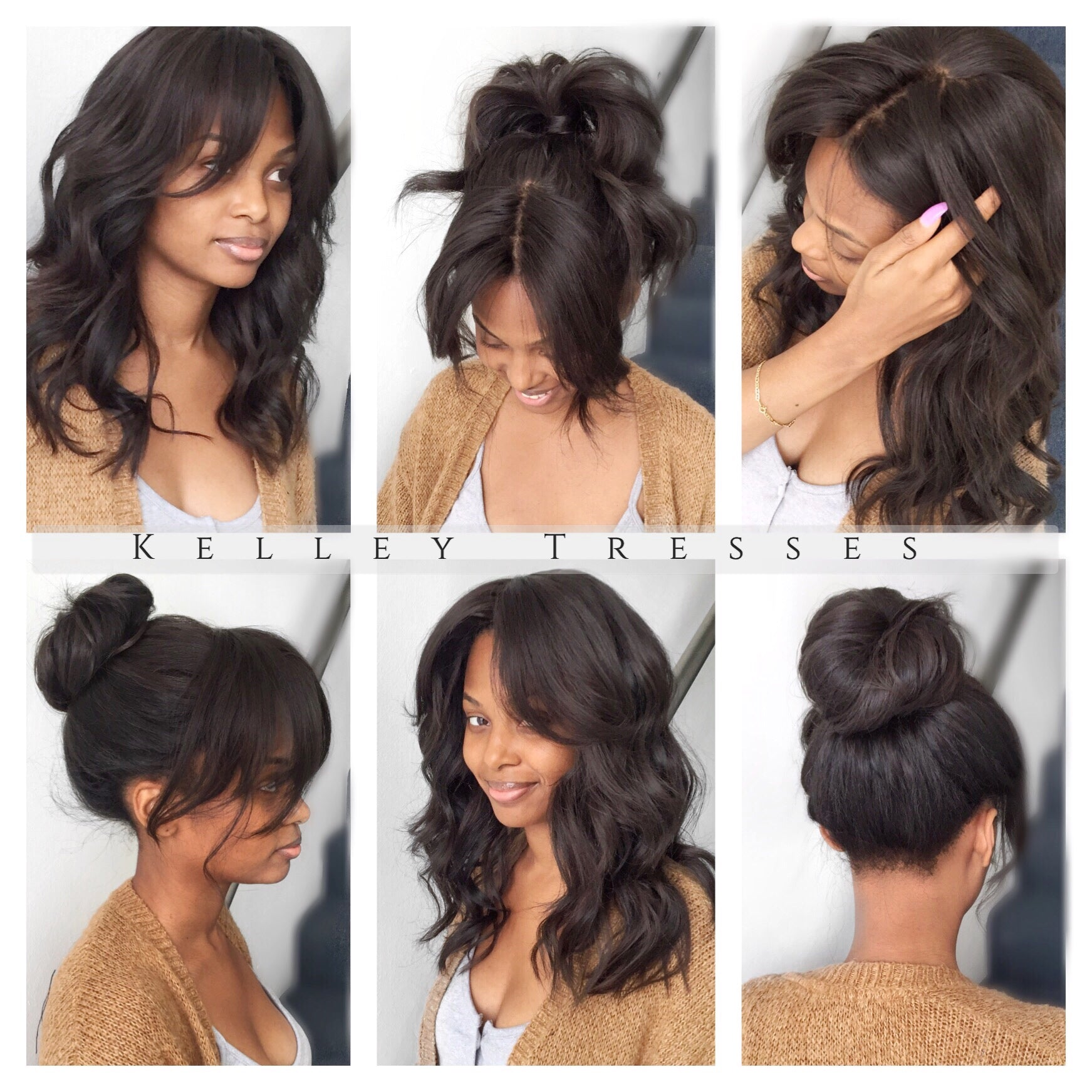 Versatile Sewin + Silk Closure... Get the Look!