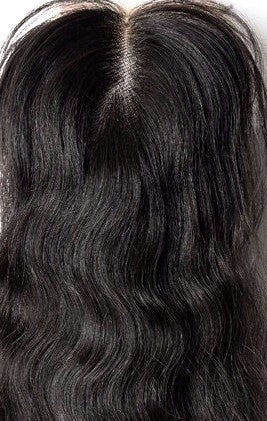 Natural Wave Lace Closure - Kelley Tresses