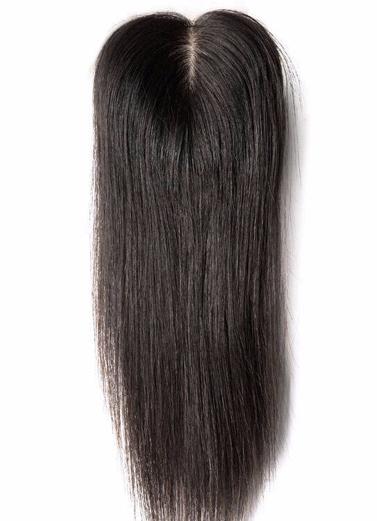 Natural Straight Silk Closure - Kelley Tresses