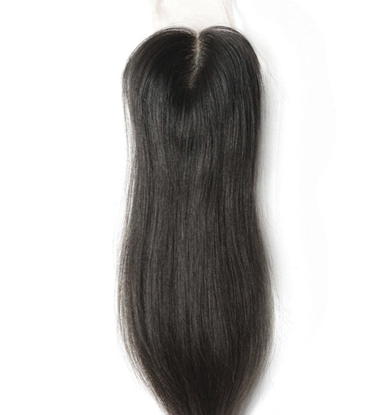 Natural Straight Lace Closure - Kelley Tresses