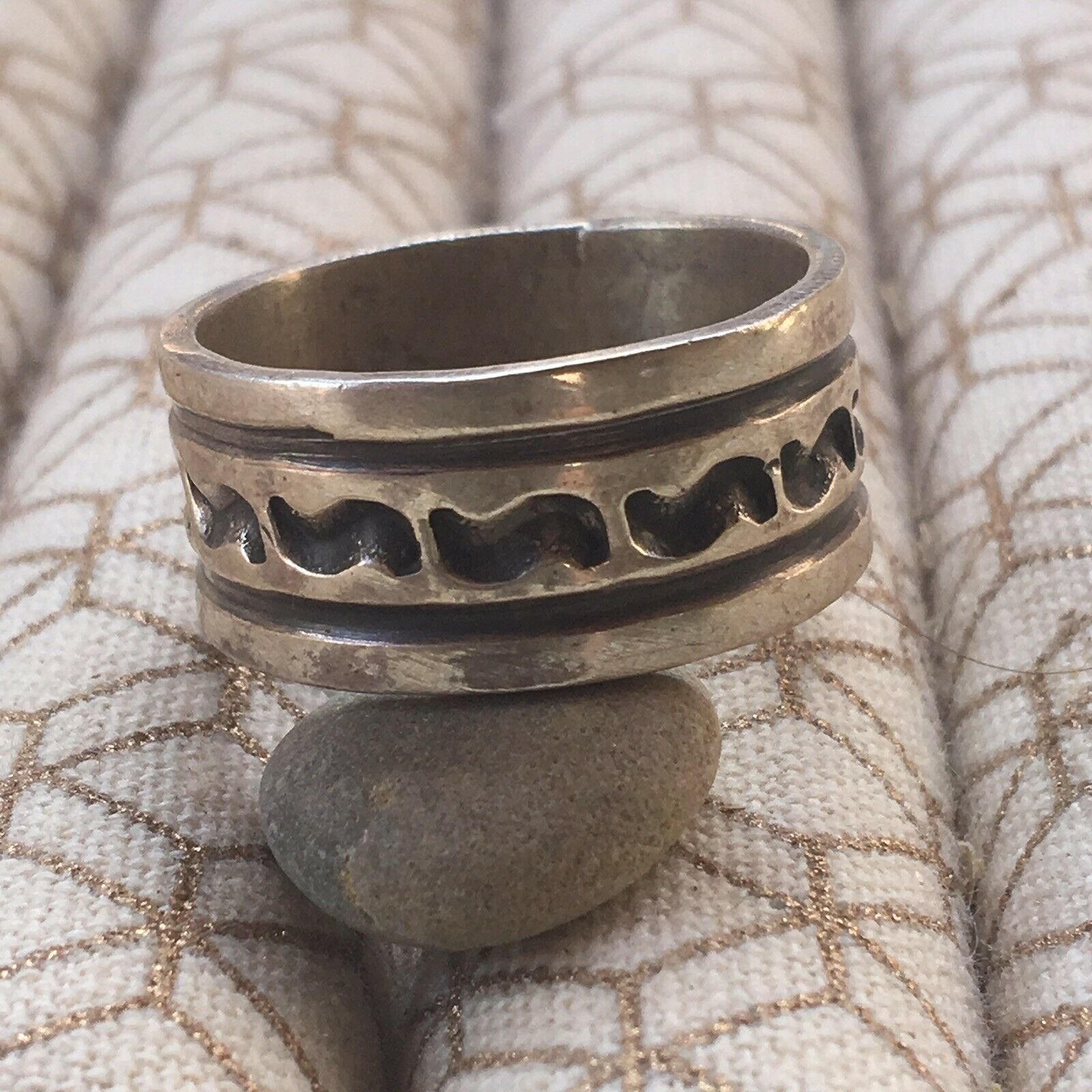 Navajo Sterling Silver Ring Size 11