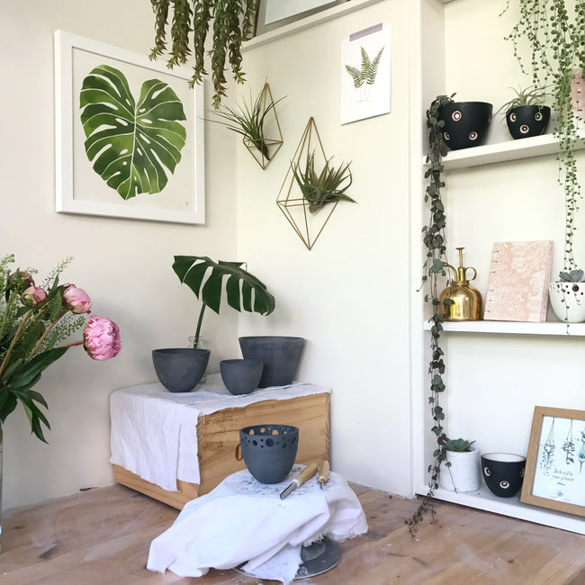 Katie Robbins Beautiful plant corner