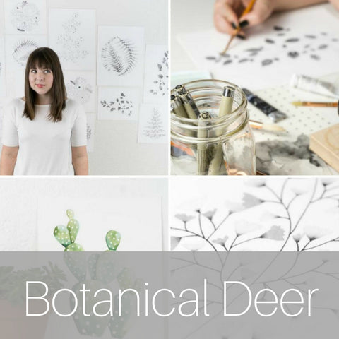 Botanical Deer Eco