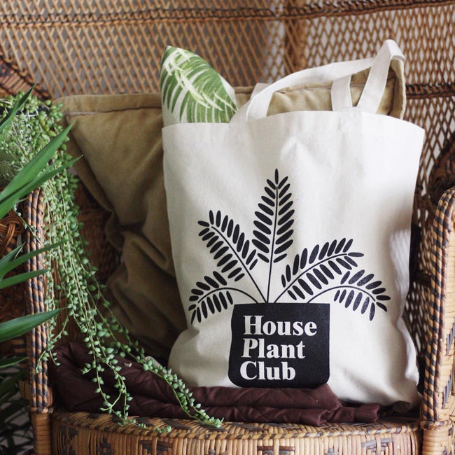 House Plant Club Tote Bag