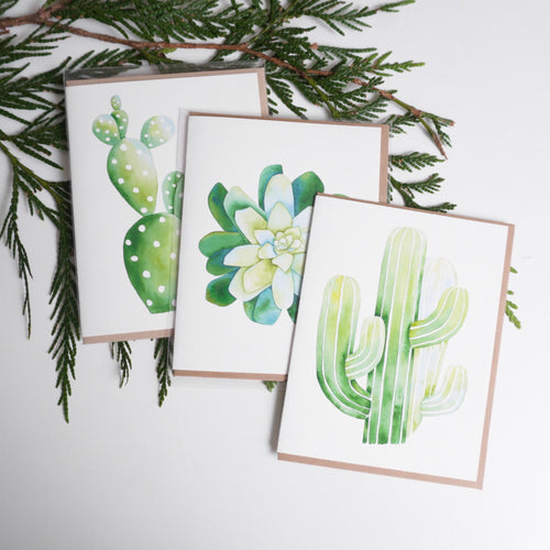 Cactus Greeting Card Collection